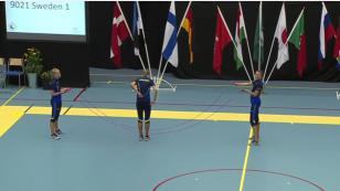 Mira a estas deportistas saltar una cuerda con mucha destreza [VIDEO]