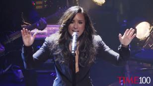 Mira la presentación de Demi Lovato en la gala TIME 100 [VIDEO]