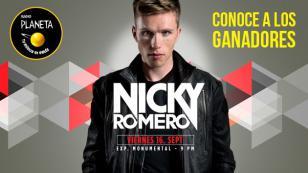 ¡Conoce a los ganadores de las entradas para el concierto de Nicky Romero!