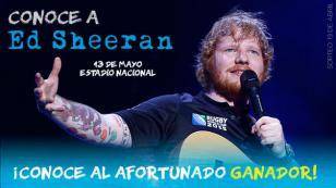 Esta es la afortunada persona que irá a conocer Ed Sheeran gracias a Planeta