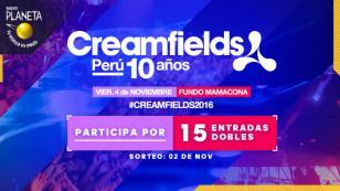 ¡Conoce a los ganadores de las entradas al 'Festival Creamfields Perú'!
