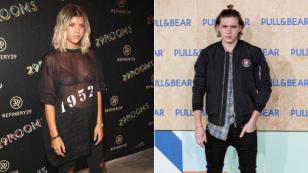 ¿Brooklyn Beckham y Sofia Richie son la nueva pareja del año?