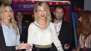 Taylor Swift volvió a los escenarios... ¿y mandó mensaje a Calvin Harris? [VIDEO]