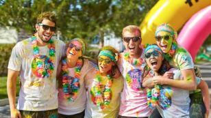 The Color Run Entel llega a Lima y estás invitado a participar
