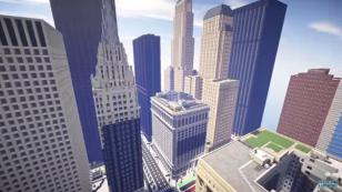 Un estudiante reprodujo la ciudad de Chicago en 'Minecraft' y es increíble [VIDEO]