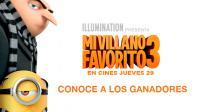 ¡Ellos son los ganadores de las 10 entradas dobles para ver 'Mi Villano Favorito 3'!