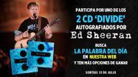 ¡Participa en este concurso y llévate un CD 'Divide' autografiado por Ed Sheeran!