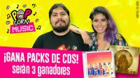 ¡Participa y gana 2 CDs originales con Pop Corn Music!