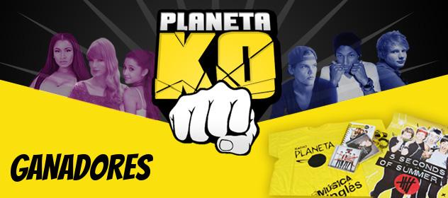 Descubre quiénes ganaron con el Planeta KO