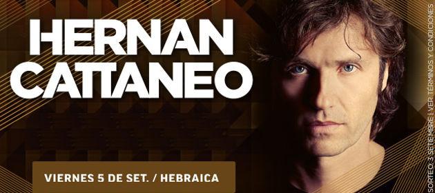 Descubre si ganaste entradas para ver a Hernán Cattaneo
