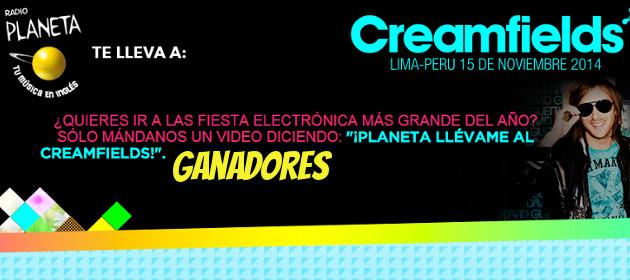 ¿Irás al Creamfields Perú 2014? ¡Conoce a los ganadores!