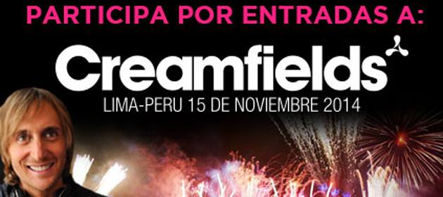 Gana entradas para el Creamfields Perú 2014