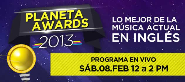 Planeta Awards 2013