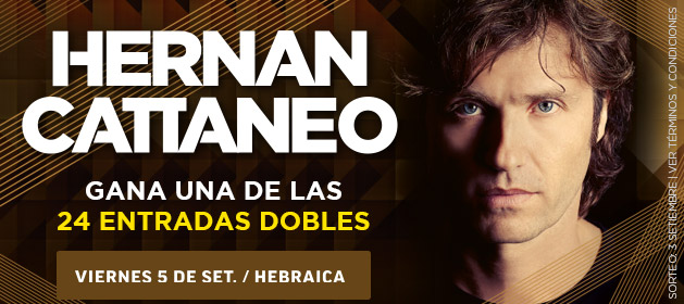 Participa por entradas dobles para ver a Hernan Cattaneo