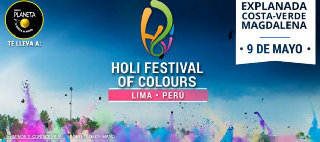 Gana entradas para el Holi Festival Of Colours