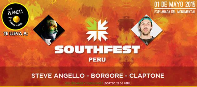 SOUTHFEST: ¿Quieres ir al festival? ¡Participa!