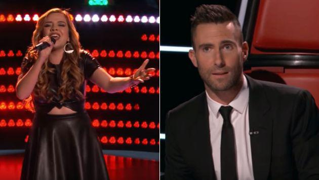 Esta joven sorprendió a Adam Levine al cantar en castellano en 'The Voice' [VIDEO]