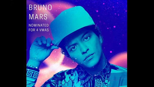 Bruno Mars y sus 4 nominaciones en los MTV Video Music Award