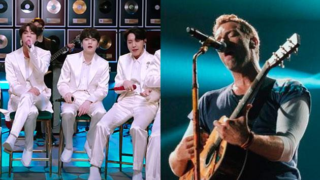 BTS cantó 'Fix You' de Coldplay en MTV Unplugged