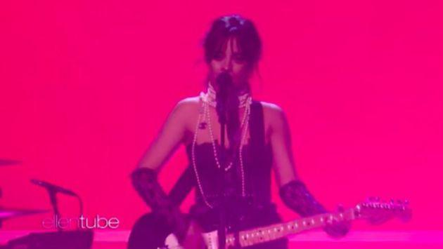 Camila Cabello interpretó 'Never Be the Same' en el show de Ellen DeGeneres