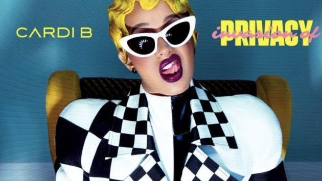 Cardi B 'Invasion of Privacy' debuta en la cima del Billboard200