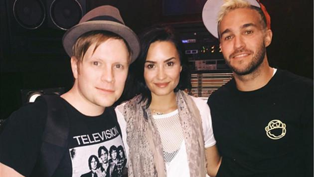 Escucha el dueto de Demi Lovato y Fall Out Boy, 'Irresistible'