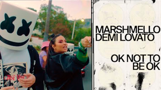 Demi Lovato y Mashmello estrenaron 'Ok Not To Be Ok'