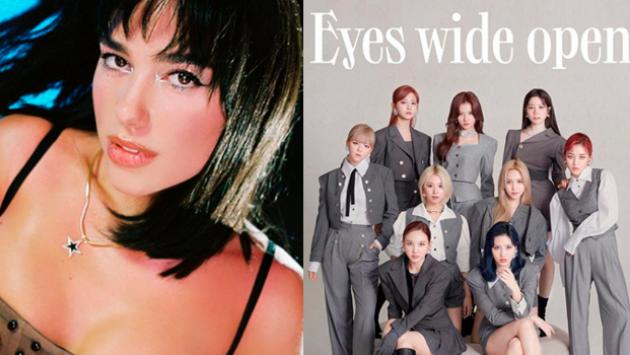 Dua Lipa colabora con Twice en 'Behind The Mask' del disco 'Eyes Wide Open'