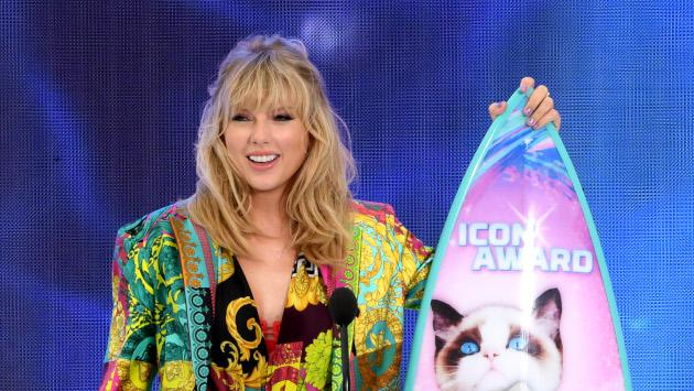 El increíble discurso de Taylor Swift en los Teen Choice Awards 2019