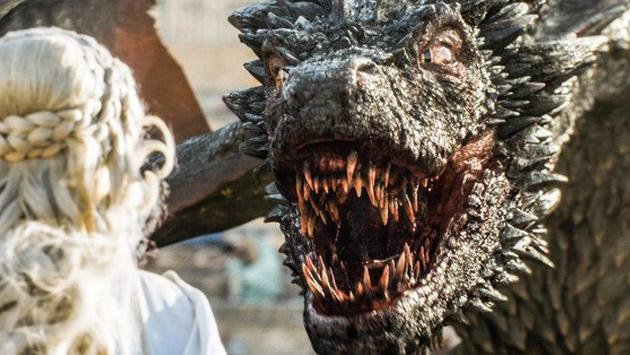 Fotos del set de la temporada 7 de 'Game of Thrones' revelarían una épica batalla de dragones