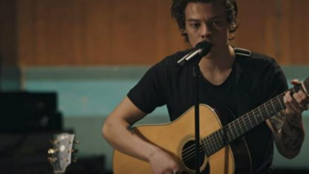 ¡Harry Styles lanzó el video acústico de 'Two Ghosts'! [VIDEO]