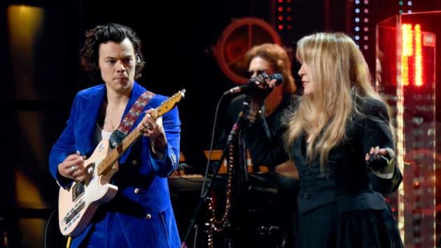Harry Styles y Stevie Nicks cantan en el after party del desfile de Gucci