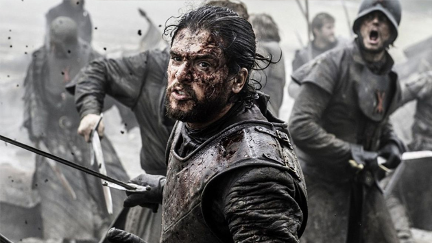 En 'Game of Thrones', Kit Harington vivió su mayor temor. Mira cuál es