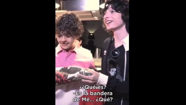 Los chicos de 'Stranger Things' se 'vistieron' de mariachis [VIDEO]