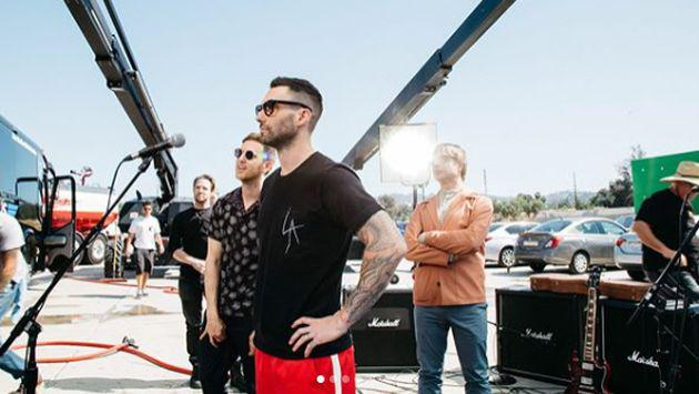 Maroon 5 celebra un nuevo aniversario de 'One More Night'