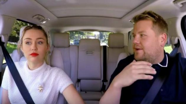El imperdible Carpool Karaoke de Miley Cyrus