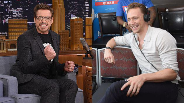 Robert Downey Jr. 'trollea' a Tom Hiddleston con Taylor Swift [FOTO]