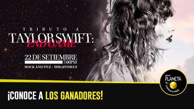 ¡Salieron los ganadores del tributo a Taylor Swift: End Game!