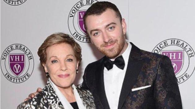 Sam Smith le dedicó este emotivo mensaje a Julie Andrews