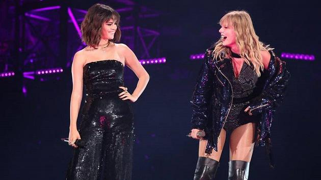 Selena Gomez y Taylor Swift cantaron juntas en el 'Reputation Tour'