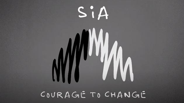 Sia estrenó 'Courage to change' para 'Music'