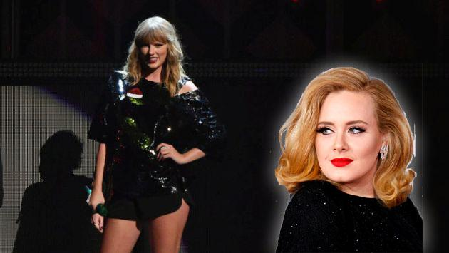 Taylor Swift alcanzó una marca de Adele con su álbum 'Reputation'