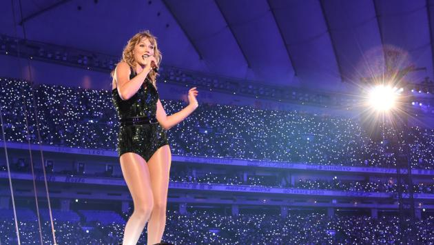 Taylor Swift estrenó el documental sobre su gira 'Reputation Tour'