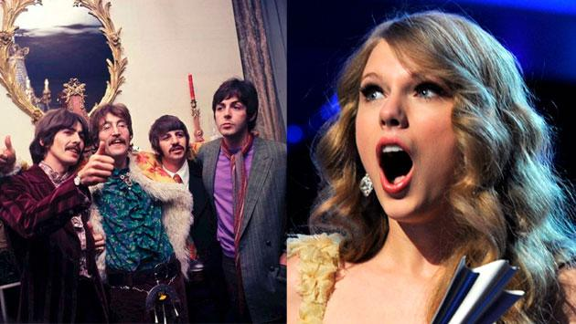 Taylor Swift supera a The Beatles y bate un nuevo récord