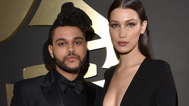 The Weeknd y Bella Hadid confirman su regreso con un beso en una fiesta