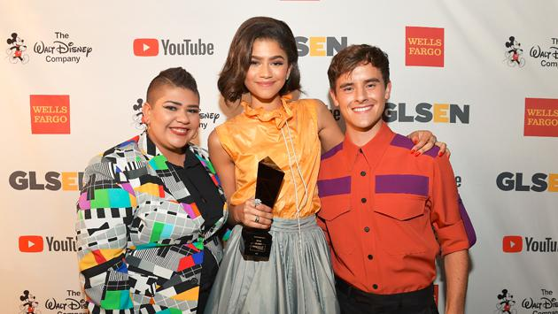 Zendaya tuvo a sus pies a los GLSEN Respect Awards [FOTOS]