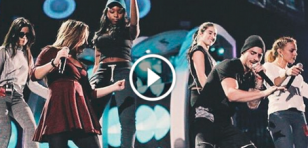 Fifth Harmony interpretó 'Sin contrato' en los Latin Grammys 2015 junto a reguetonero [VIDEO]