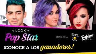¡Estos son los ganadores del concurso 'Look Pop Star' para cambiar de look!